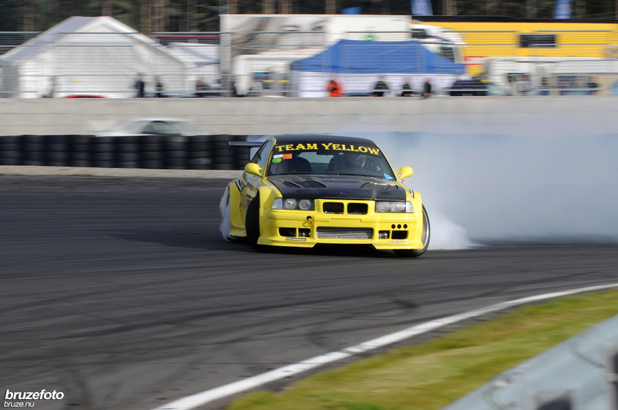 Team Yellow Drift and Racing BMW E36 BMW